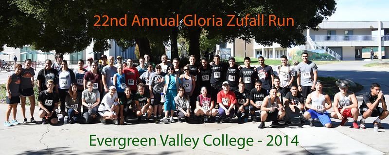 22nd Annual Gloria Zufall Fun Run 2014