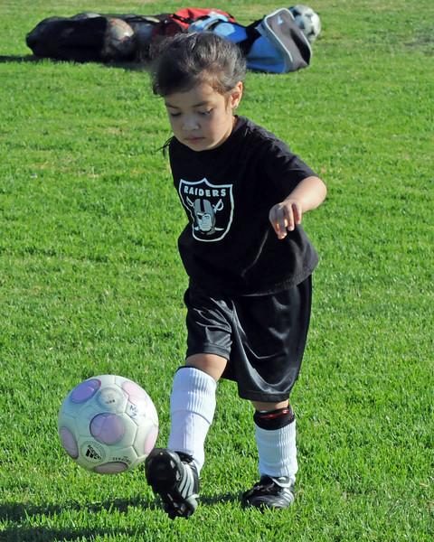 EVC Lady Hawks Soccer Camp - 2009
